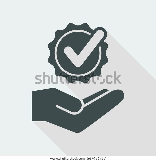 Serviceangebot - Beste Option prüfen - Minimales Symbol