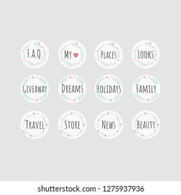 Instagram Highlight Images Stock Photos Vectors Shutterstock