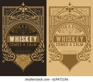 Set of 2 labels