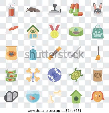 Set 25 Transparent Icons Such Dog Stock Vector (Royalty Free ... 23a5626cdaf