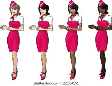 stewardess hook up app