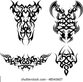 4f945be1a9391 Tattoo Ornament Images, Stock Photos & Vectors | Shutterstock