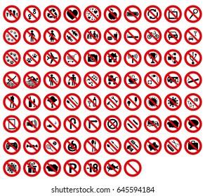 set 77 forbidden signal