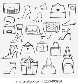 set of accessoires