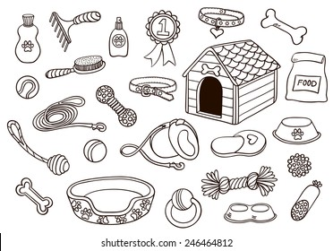 Hand Drawn Dog Images Stock Photos Vectors Shutterstock
