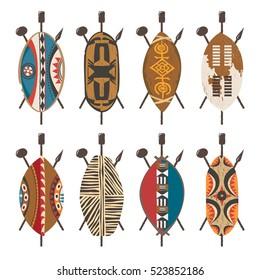 African Shield Images, Stock Photos & Vectors | Shutterstock