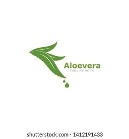 Set of aloevera logo template vector icon concept