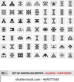 Set of Anatolian Motifs / Hair Band