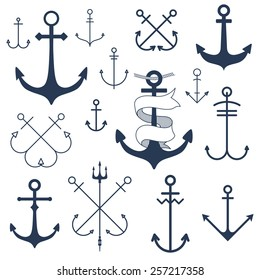 Set of anchors