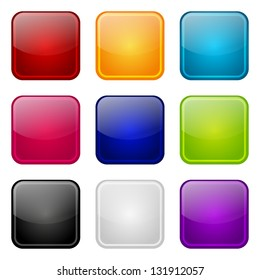 Set of apps color icons