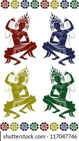 set apsara dance