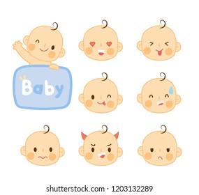 Baby Laugh Evil Stock Vectors, Images & Vector Art