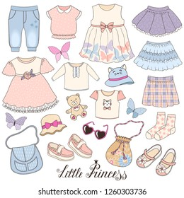 8b1971b3472a Background Baby Clothes Stock Vectors