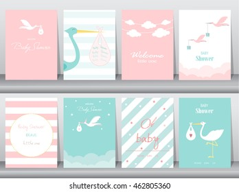 Welcome Baby Card Images Stock Photos Vectors