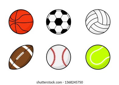 Sports Ball Cartoon Images Stock Photos Vectors Shutterstock