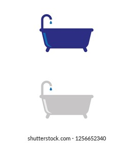 a set of bathtub icons