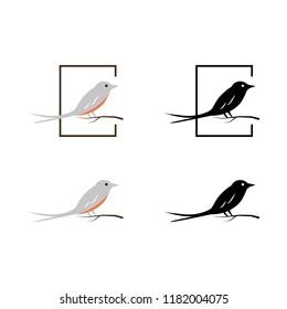 a set of bird icons