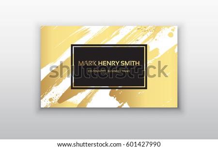 set black gold design templates brochures のベクター画像素材