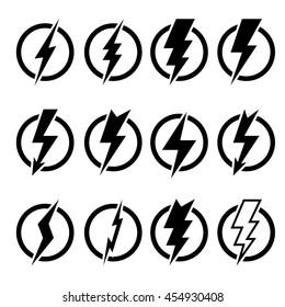 lightning bolt logo images stock photos vectors shutterstock