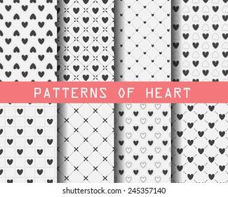 Polka Dots Hearts Stock Vectors Images Vector Art