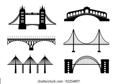 Set of bridge