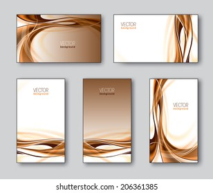 Set of Business Cards or Gift Cards.