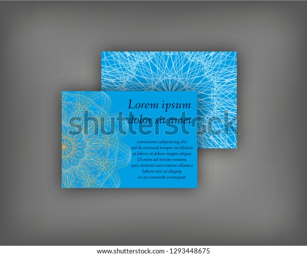 Set Business Invitation Save Date Card Stock Vector (Royalty Free ...