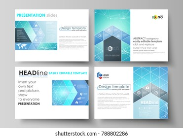 business abstract vector template brochure design のベクター画像