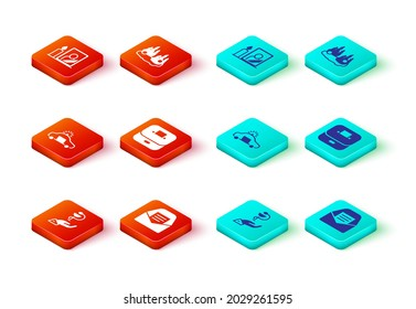 Set Caduceus snake medical, Mail and e-mail, Police car flasher, Vote box, Burning and Mourning photo frame icon. Vector