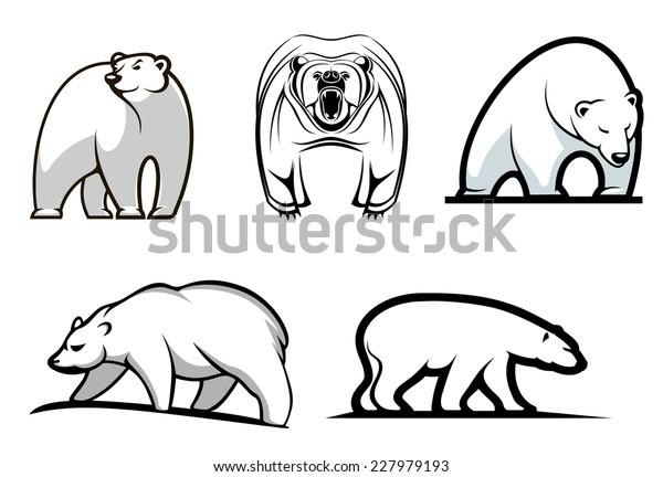 Baby Polar Bears Giant Panda Clip Art - Bear Transparent PNG