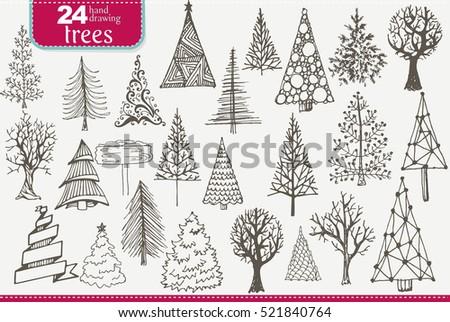 Christmas Designers.Set Christmas Designers Elements Stock Vector Royalty Free