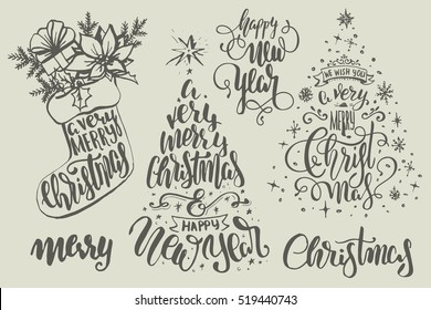 Christmas Lettering.Christmas Lettering Images Stock Photos Vectors