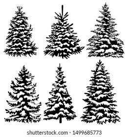 Christmas Tree Silhouette : Find & download free graphic resources for christmas silhouettes.