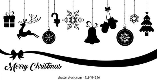 Set of Christmas vector icons
