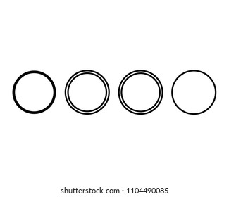 Set Of Circle Collection