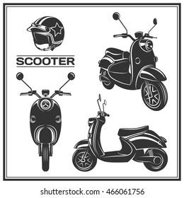 Motor Scooter Images, Stock Photos & Vectors | Shutterstock