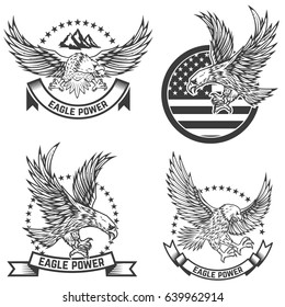 Eagle Tattoo Images, Stock Photos & Vectors | Shutterstock
