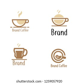 Set of coffee logo. Different logo, badge, emblem collection on white background. Vector coffee shop labels. Minimalistic vector.