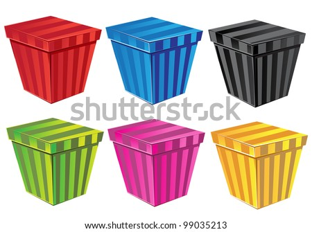Set Color CD Covers Stock Vector (Royalty Free) 99035213 - Shutterstock