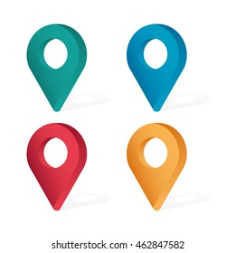 Image result for location tag icon colours