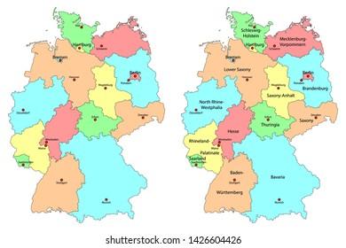 Bilder Stockfoton Och Vektorer Med Schleswig Holstein Vector
