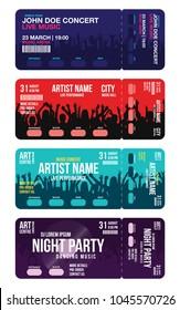 concert ticket images stock photos vectors shutterstock