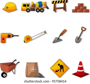 Set of construction object