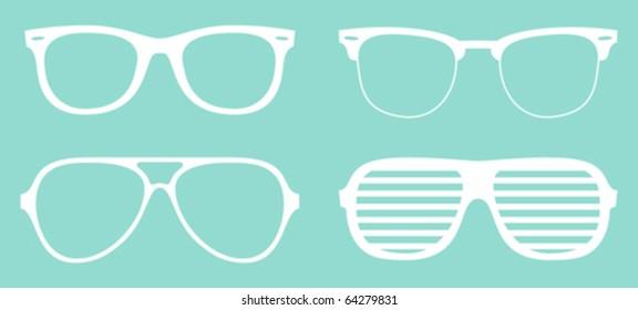 set of cool glasses
