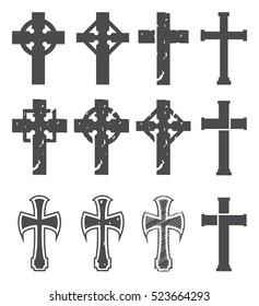 Set of crosses