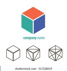 Set cube logo