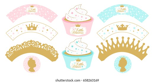 photo regarding Printable Cupcake titled Printable Cupcake Toppers Pics, Inventory Images Vectors