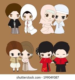 Muslim Wedding Images Stock Photos Vectors Shutterstock