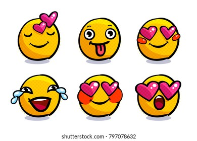 Love Emoji Images, Stock Photos & Vectors | Shutterstock
