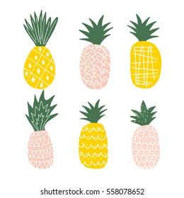Cute Pineapple Images Stock Photos Vectors Shutterstock
